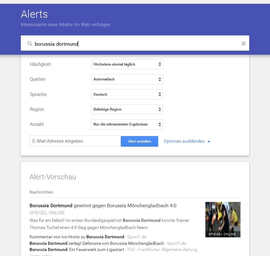 how to stop google alerts