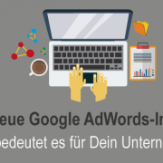 Google Adwords-Interface