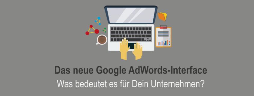 Google Adwords-Interface