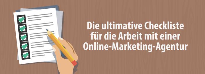 Checklist Online-Marketing-Agentur