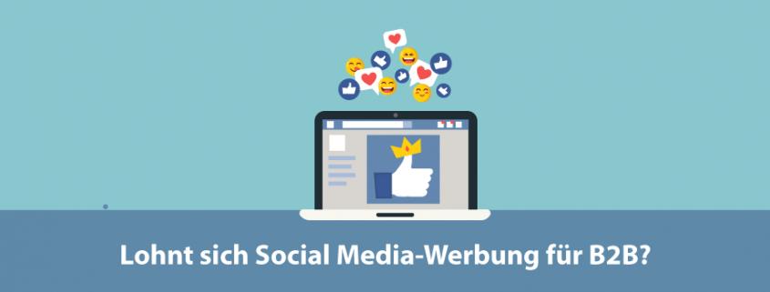 Social-Media Werbung