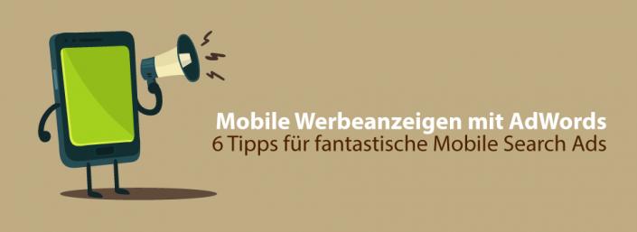 Mobile Werbeanzeigen