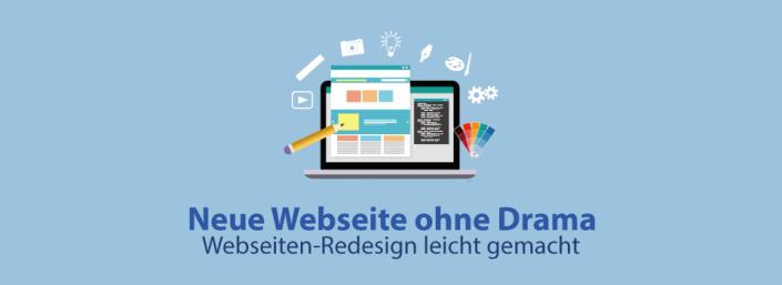 Webseiten-Redesign