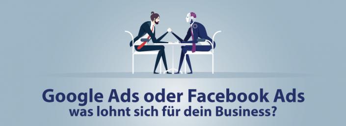 Google oder Facebook