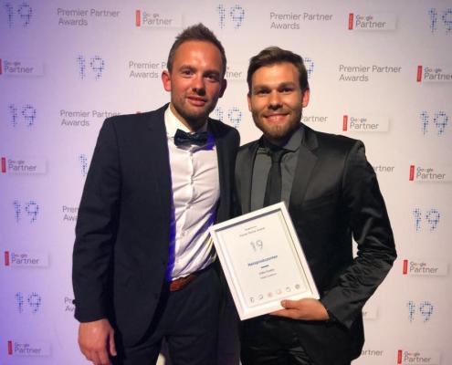 Marcus & Felix Hesse bei Final-Auszeichnung der Google Premier Awards in Dublin