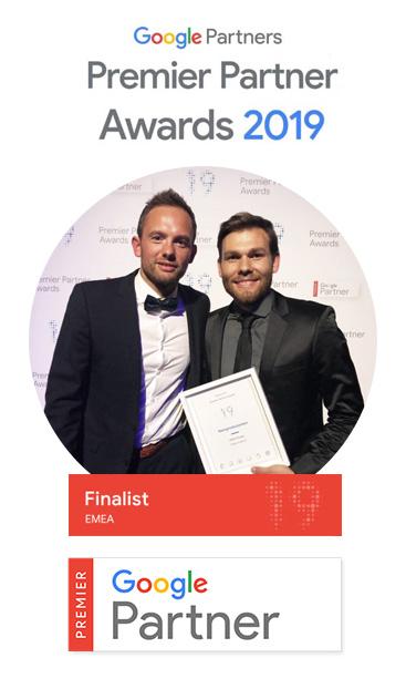 Google Premier Partner Award Finalist